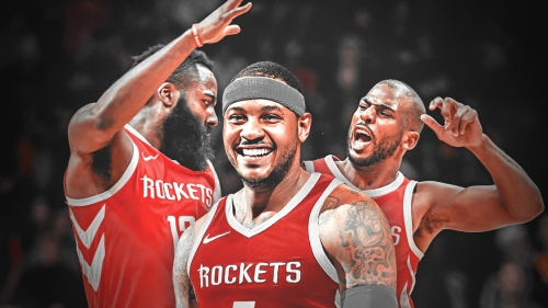 Carmelo Anthony on coming off bench for Rockets