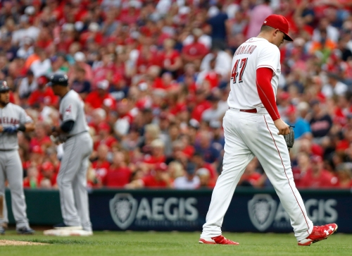 Sal Romano crushed in short start, Cincinnati Reds blown out against Cleveland Indians