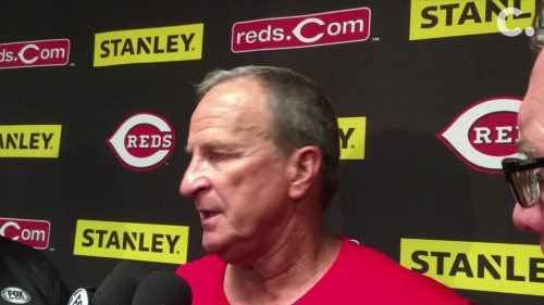 Cincinnati Reds interim manager Jim Riggleman after 8-1 loss: 'We're in a rough patch'