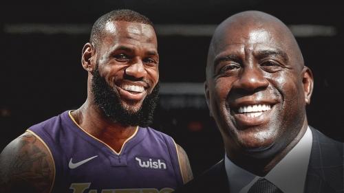 LeBron James wishes Magic Johnson a happy birthday