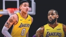 Kyle Kuzma thinks people are sleeping on the Lakers