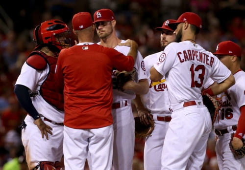 Who's hot (Gant), who's not (A. Garcia) for Cards