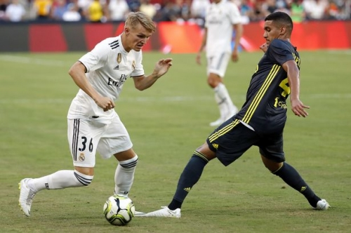 Stoke City being heavily backed to sign Real Madrid wonderkid