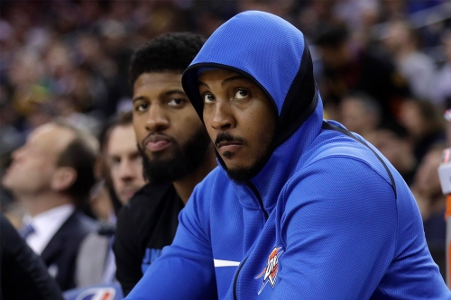 Is Carmelo Anthony too good to come off the bench?