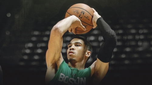 Jayson Tatum working on 3 areas coming into 2018-19 season
