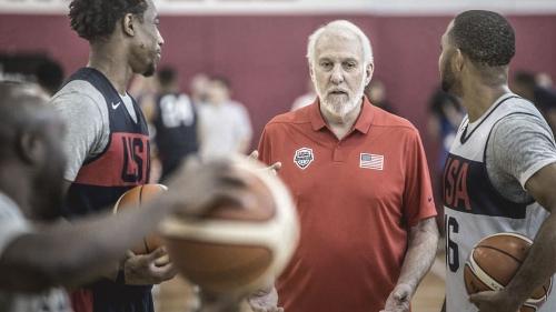 Gregg Popovich encouraged by basketball progress at international level