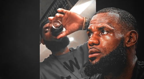 Sommelier rates LeBron James' $4,000 wine night on his Instagram story