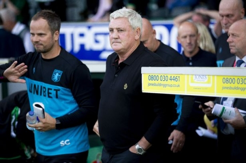 These words will lift Steve Bruce's mood after Aston Villa's dismal display at Yeovil