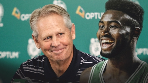 Danny Ainge trolls Jaylen Brown yet again