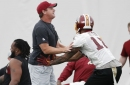 Reviewing Jay Gruden's comments for insight into the cornerback position battle following Scandrick's release