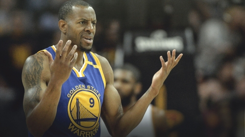 Warriors' Andre Iguodala compares the NBA embracing gambling to 'marijuana being legalized'
