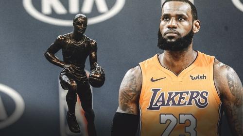 Lakers forward LeBron James has best odds to win 2019 MVP