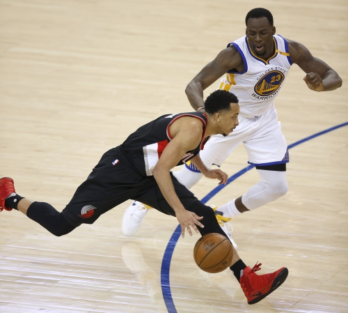 McCollum has another message for Warriors; it's not 'Congrats on your success'