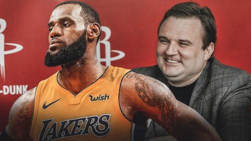 Rockets GM Daryl Morey calls LeBron James 'the greatest ever'