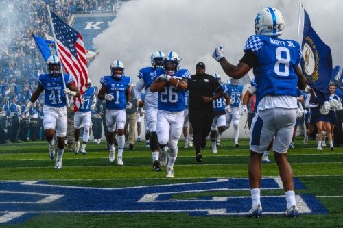 2018 Kentucky Football Schedule and Roster