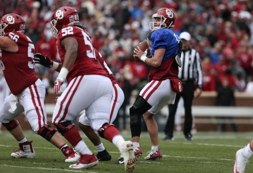 Position battles heating up in Oklahoma offense