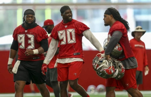 Bucs are pleasantly surprised at what a great leader they got in the trade for Jason Pierre-Paul