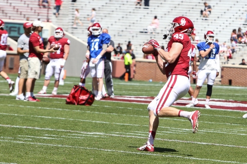 Carson Meier the leader in the clubhouse: 3 takeaways from OU football's media availability