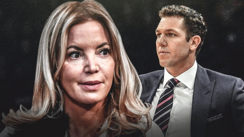 Jeanie Buss says Luke Walton has 'done a great job' getting team to buy in to his vision