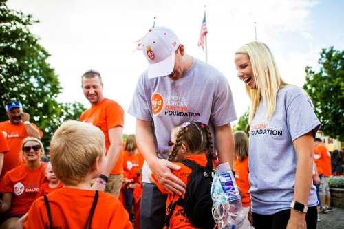 Andy and Jordan Dalton thank Bills fans, announce plan to give back to Buffalo