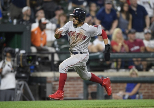 Boston Red Sox lineup: Mookie Betts gets day off as Sox go for sweep vs. Phillies