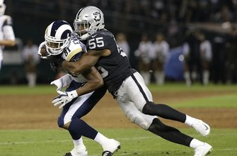 Raiders linebacker Marquel Lee steps up in training camp