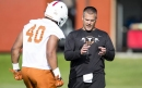 Knee injuries sideline Texas freshmen Ayodele Adeoye, DeMarvion Overshown vs. Maryland