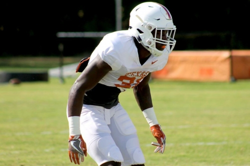 Texas LB Ayodele Adeoye and LB/S DeMarvion Overshown ruled out for Maryland game