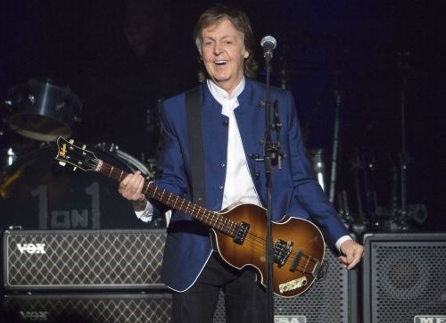 New McCartney love song takes direct, 'raunchy' approach