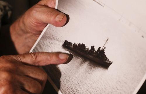 Encuentran la popa de barco de EEUU hundido hace 75 años