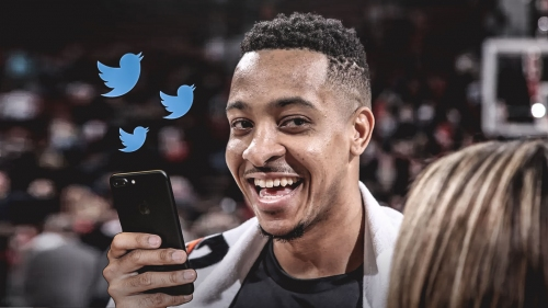 "Twitter goes nuts with CJ McCollum's ""I'm trying Jennifer"" tweet"
