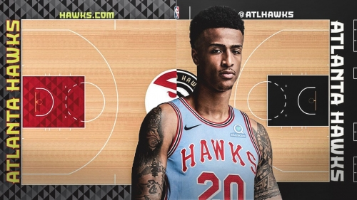 Hawks reveal retro jerseys, court to celebrate 50th anniversary