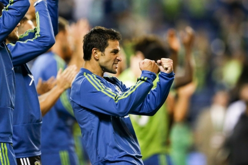 Was Nicolas Lodeiro's goal intended as a shot or a pass?