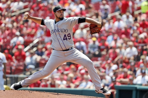 Rockies will start Antonio Senzatela, send Chad Bettis to bullpen