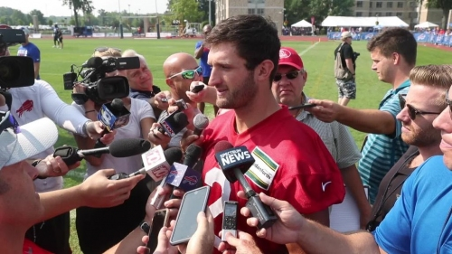 Buffalo Bills QBs reflect on training camp