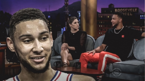 Ben Simmons on bet he won with his brother his rookie year involving wigs and hot sauce