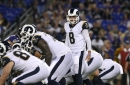 Rams' Brandon Allen could take a big step Saturday, amid concerns about backup QB spot