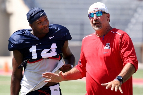 Watch: 7 best things Arizona OC Noel Mazzone said after Wednesday's practice