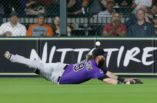 Rockies four-game winning streak ends with 12-1 loss to Astros