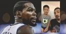 Video: Enes Kanter tells a kid to burn his Kevin Durant shirt