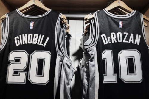 Open Thread: New Spurs players getting jersey numbers
