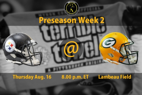 Steelers vs. Packers Preseason Week 2: Time, TV Schedule and game information