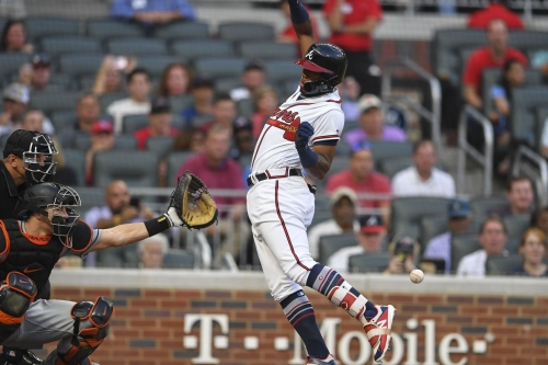 Braves News: Ronald Acuña drilled for being better than the Marlins