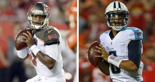 Sports Day Tampa Bay podcast: Jameis Winston, Marcus Mariota share practice field