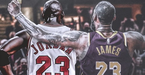 Skip Bayless trolls LeBron James on Twitter over GOAT debate with Michael Jordan