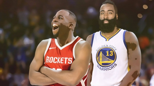 Player swapping James Harden and Draymond Green: How good would the Warriors and Rockets be?
