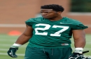 Michigan State's Weston Bridges shining in practice after 2 ACL tears