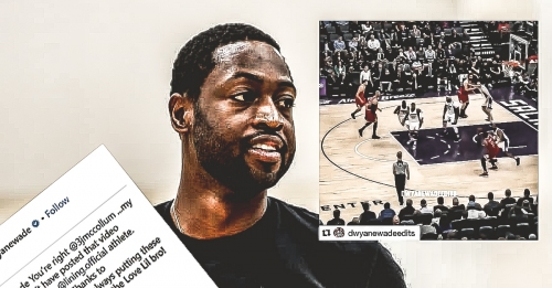 Dwyane Wade apologizes for exposing C.J. McCollum on Instagram mixtape