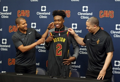How did Collin Sexton react to LeBron James leaving Cleveland Cavaliers?