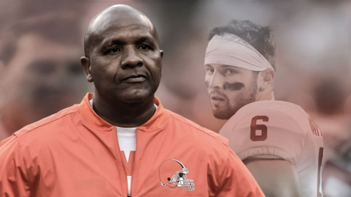 Browns HC Hue Jackson hints that Drew Stanton will begin as backup QB over Baker Mayfield